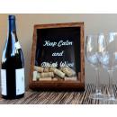 wholesale Kitchen Utensils: Wine Basket Shadow Box Holder - 22x29x5.5