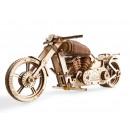 nagyker Ajándékok: Ugears fa modell épület - motorkerékpár VM-02