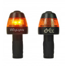 CYCL WingLights Fixed v3 - LED Bike lights aa