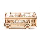 wholesale Puzzle: Wooden City London Bus - Wooden Model Building