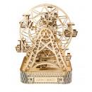 wholesale Puzzle: Wooden City Ferris Wheel - Wooden Model Building