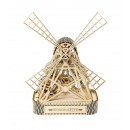wholesale Puzzle: Wooden City Mill - Wooden Model Building