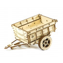 wholesale Puzzle: Wooden City Trailer for 4x4 Jeep - Wooden Model