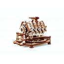 mayorista Motos y Motocicletas: Motor de la ciudad de madera V8 - Edificio modelo