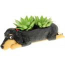 Rotary Hero Flowerpot - Dog