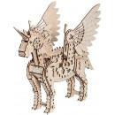wholesale furniture: Mr. PlayWood Unicorn - Wooden Model Building