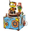 wholesale Toys: Robotime DIY Music box - Machinarium