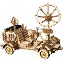 Robotime Moon Buggy with solar cell LS401 - Wooden