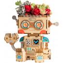 wholesale Plants & Pots: Robotime Robot FT761 - Wooden modeling - Flowerpot