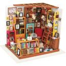 Großhandel Holzspielzeug: Robotime Sams Arbeitszimmer DG102 - Holzmodell