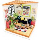 Robotime Locus' Living room DG106 - Wooden mod