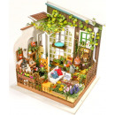 Robotime Millers Garden DG108 - Wooden modeling -