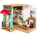 Robotime Simons Coffee DG109 - Wooden modeling -