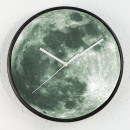Walplus Maan, Wall clock, Glow in the Dark Clock,