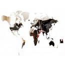 MiMi Innovations Luxury Mirror World Map, Wall Dec