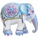 mayorista Regalos y papeleria: Elephant Parade Indian Blues, elefante hecho a man