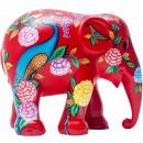 Großhandel Küchenutensilien:-Elefantenparade Pfau-Garten, handgemachtes Olifan