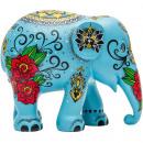 Großhandel Kunstblumen: Elefantenparade Gardnerfante, handgemachter Elefan