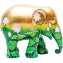 groothandel Sport & Vrije Tijd: Elephant Parade Golden Lotus, Handgemaakt Olifante
