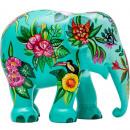 Elephant Parade Tropical Floral, Handmade Olifa