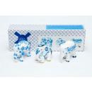 Großhandel Geschenkverpackung: Elefantenparade Delfter Blau, Multipack, Handgemac