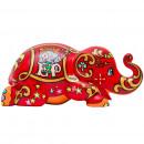Elephant Parade Lucky Happy Ellybank, Money Box, H