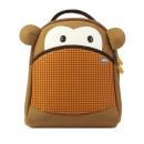 Upixel YoCi Monkey, Kinderrucksack, DIY Pixel Art,