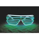IA grüne und weiße LED leuchten Gläser