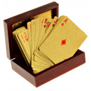 United Entertainment Golden Playing Cards with Lux