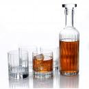 wholesale Drinking Glasses: Luigi Bormioli Bach, Whiskey Set with Carafe 70 cl