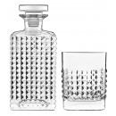 wholesale Drinking Glasses: Luigi Bormioli Elixir, Whiskey Set with Carafe 75