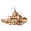 Ugears Wooden Model Building, Tugboat