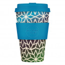 Ecoffee Cup Stargate, Bamboo Cup, 400 ml, with Bl