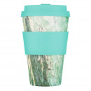 Ecoffee Cup Marmo Verde, Bamboo Cup - 400 ml, with