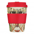Ecoffee Cup Farfalle, Bamboo Cup, 350 ml, with Ro