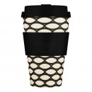 Ecoffee Cup Basket Case, Bamboo Cup, 400 ml, with