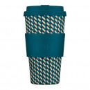 Noffee Road Ecoffee Cup, Bamboo Cup, 470 ml, with