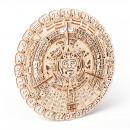 Trucco di legno Maya Calendario, edificio in legno