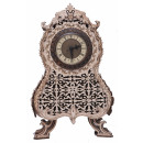Wood Trick Vintage Clock, Wooden Model Building