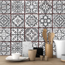 wholesale Wall Tattoos: Walplus Vintage Cracked Design Tile Sticker, Don