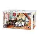 wholesale furniture: Robotime Paris Midnight DGF02, Wooden model bou