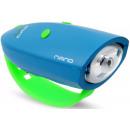 Großhandel Fahrräder & Zubehör: Mini Hornit NANO, Fahrradlicht mit Soundeffekten,