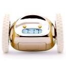 wholesale Clocks & Alarm Clocks: Clocky, Alarm Clock on Wheels, Gold
