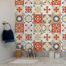 mayorista Casa y decoración: Walplus Bahia Adhesivo marroquí para azulejos, azu