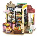 Robotime Carl's Fruit Shop DG142, Wooden Model