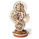 Ugears Wooden Model Kit, Steampunk Clock