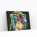 wholesale Crafts & Painting: Best Pause Monkey multi color, Painting by numbers