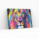 Best Pause Lion Multi Color, Paint by Numbers,