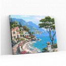 Best Pause Mediterranean Village, Painting by numb