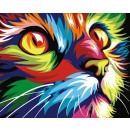 Best Pause Cat Multi Color, Painting by Numbers, 4